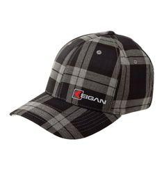5b1213aa5f7bb HW1001 Micro Main Hat Blk Plaid - Keigan Apparel