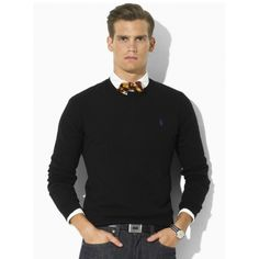 Welcome to our Ralph Lauren Outlet online store. Ralph Lauren Mens Round Neck  Sweater rl2180