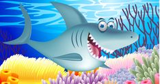 Baby Shark is. The baby shark song videos have been all the rage, and we'll show you why that's not such a bad thing. Preschool Songs, Preschool Themes, Kids Songs, Baby Shark Song Youtube, Winter Songs For Kids, Baby Shark Dance, Shark Halloween, Campfire Songs, Fox Character