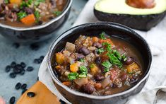 A warming and spicy black bean soup that is so easy to throw together in the morning before work. Come home to a spicy aroma and a hearty dinner perfect for any occasion.