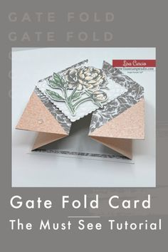 Card Making Tips, Card Making Tutorials, Card Making Techniques, Making Ideas, Handmade Cards For Friends, Handmade Birthday Cards, Greeting Cards Handmade, Fancy Fold Cards, Folded Cards