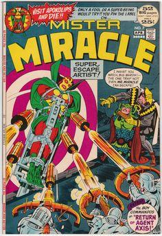 vol. 1 Mister Miracle #18 1st Print WEDDING OF BIG BARDA /& MIRACLE DC VF//NM