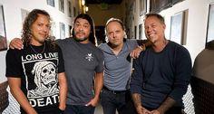 Metallica lineup since 2003 with Robert Trujillo