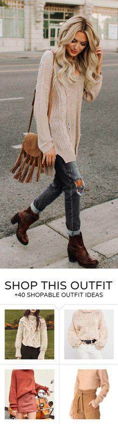 #fall #outfits women's brown velvet fringe sling bag