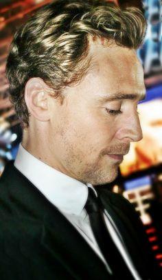 Mr. Hiddleston has a glorious profile.