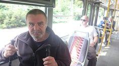 Táta v tramvaji :) po 20-ti letech.....