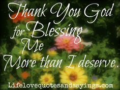thank you jesus for your blessing | Thank You God.. | Love Quotes And Sayings
