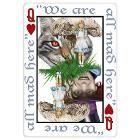 Alice in Wonderland Queen of Hearts Original Sketch Print, Highly-Detailed, Handmade Draw