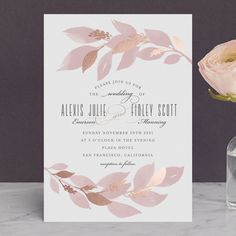 Free Editable And Printable Pdf Wedding Invitation Template Woods