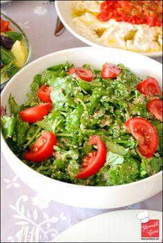 Bulgurlu Roka Salatası