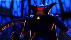 Z is for Zurg   Community Post: A Disney Villain Alphabet.   Zurg is Buzz Lightyear's arch-nemesis. He's inspired by one the world's greatest villains, Darth Vader. He's evil, mean, and devilish. I have to admit he's pretty great for a villain.