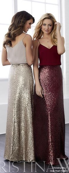 House of Wu Bridesmaid Dresses 2018 / http://www.deerpearlflowers.com/christina-wu-bridesmaid-dresses/