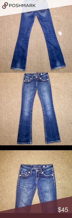 """Miss Me Irene Style Jeans Miss Me """"Irene"""" Boot Cut Women's Designer Jeans in size 24 S with an inseam of 31. In great condition. Miss Me Jeans Boot Cut"""