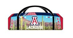 Lacrossewear's Sublimated Lacrosse Bag  *Zipper end pockets *Optional Sublimated Number or Name *Durable Heavyweight Poly Materia