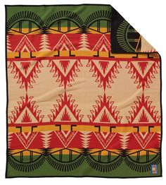 I have this one. Great colors/design. I have a Pendleton blanket addiction.