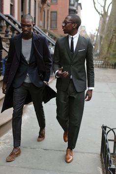 スーツの着こなしとコーデ | メンズファッションスナップ フリーク