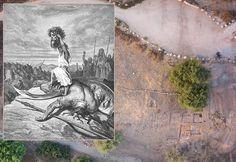 Descubren la puerta de entrada a la ciudad bíblica de Gat hogar de Goliat
