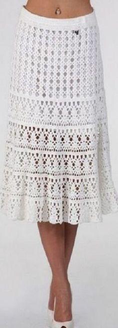 to Crochet a Little Black Crochet Dress Юбка крючком крючком 2019 Crochet Pattern Free, Crochet Skirt Pattern, Crochet Skirts, Knit Skirt, Crochet Clothes, Knitting Patterns, Tutorial Crochet, Beau Crochet, Knit Patterns