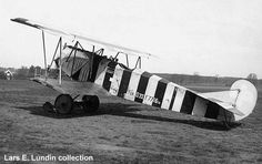 Fokker DVII F.7716/18. Purchased by the Swedish Army Aviation Company in 1919