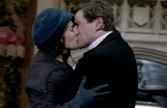 Sybil and Branson on Downton Abbey Season 3 Episode 4