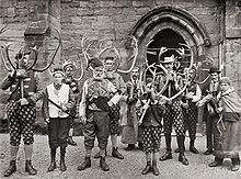 Abbots Bromley Horn Dance - Wikipedia, the free encyclopedia