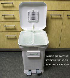 Clean, Convenient & Odor-Free Kitchen Compost Bin by CompoKeeper — Kickstarter