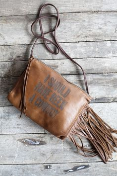 Search results for: 'shoulda been a cowboy fringe purse' - Junk GYpSy co. Unique Purses, Cute Purses, Leather Jewelry, Leather Purses, Gold Jewellery, Cowgirl Style, Cowgirl Fashion, Cowgirl Chic, Best Friend Jewelry