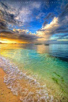 Beautiful beach.
