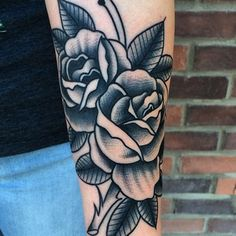 A black and gray tattoo will be a great beginning to your addiction, or addition to your collection. Scott Marshall in Chicago, Illinois.
