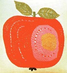 apple cushion