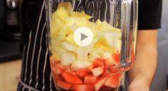Comment faire un smoothie sain et délicieux à la pomme et aux poires ? (Vidéo) - Gourmand