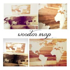 Stenciled wooden map using silhouette machine use pallet wood we have.  would be great in school room