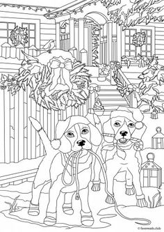 image regarding Free Printable Adult Christmas Coloring Pages named 664 Least difficult coloring Xmas pics inside of 2019 Xmas