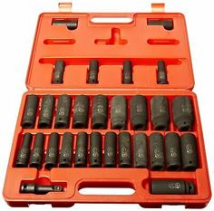Pittsburgh 130 Piece Tool Kit With Case mécanicien outil à main Set Multi Outils Kit