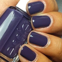 love this purple nail color from essie! ~  we ❤ this! moncheribridals.com