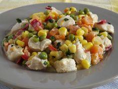 Kipróbált és bevált receptek ...: Zöldséges csirkeragu Paleo, Vegetables, Food, Essen, Beach Wrap, Vegetable Recipes, Meals, Yemek, Veggies