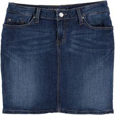 Kurzer Rock im 5 Pocket Stil, hat hinten aufgesetzte Taschen und einen Reißverschluss. 98 % Baumwolle, 2 % Elasthan....