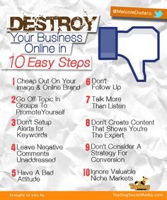 Infographic outlining rules of social media reputation management for your 2013 social media strategy. #SocialMedia #ReputationManagement