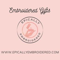 Embroidered gifts for the whole family. Choose from aprons, hankies, zero-waste products, and more. Father In Law Gifts, Mother Of The Groom Gifts, Bridesmaid Gifts Unique, Embroidered Gifts, Happy Tears, Happy Words, Bridal Gifts, Family Gifts, Customized Gifts