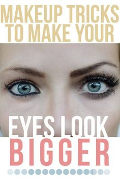 make your eyes look better