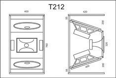 Why the wasted space? 15 Inch Subwoofer Box, Diy Subwoofer, Subwoofer Box Design, Speaker Box Design, Speaker Plans, Speaker System, Audio System, Dj System, Sub Box Design