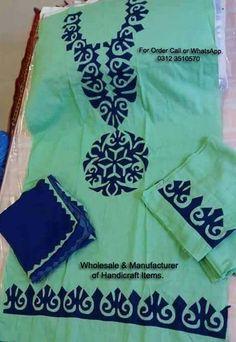 applique designs for kurti Appliques Design Pinterest