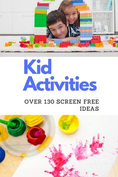 The Ultimate List of Activities for Kids at Home during School Closures – Blessed Beyond A Doubt – little girl rooms Indoor Activities For Toddlers, List Of Activities, Hands On Activities, Summer Activities, Outdoor Activities, Teaching Kids, Kids Learning, Easy Crafts For Kids, Children Crafts