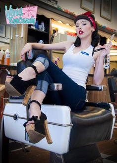 Billy-Dolls | The Vintage Doll Photo by Vivid EyeCandy Photography at Lakeside Barbershop