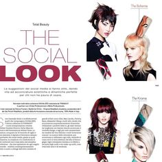 The Social Look. Great project with Tony&Guy for Wella end L'Oreal Italy +RobyNails nail artist Italy 💫💎. High performance with advance & esclusive formulation Gel Polish RobyNails . 100% Made in Italy 💖#n1 #highperformance #italy #elegant #robynails #gelpolish #nailart #nailpro