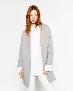 ABRIGO DOBLE FAZ OVERSIZE   Coats, Colors and Oversized coat