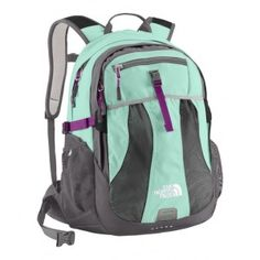 The North Face Women's Recon Backpack in Brook Blue, $99
