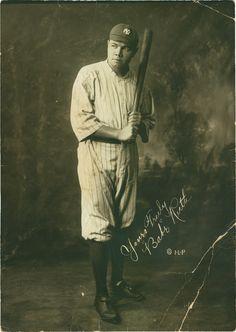 Lot 92. Rare Early Yankees Babe Ruth Studio Photograph (circa 1920) ~ Babe Ruth < Sports < May 2008 Catalog - Lelands