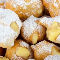 You can make these with or without the cream filling. Either way, they are hard to resist. Castagnole - An Italian Dessert Recipe from Grandmothers Kitchen.