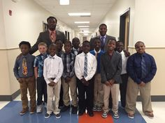 """In a South Carolina an Elementary School, Raymond Nelson, is teaching nearly 60 students the fine points of Chivalry. The student support specialist at Memminger Elementary School in Downtown Charleston, works with at-risk children. Over the winter break he was came up with the idea of """"A Gentleman's Club"""" to teach the kids life lessons. … http://www.wfpblogs.com/category/gentlemans-rules/"""
